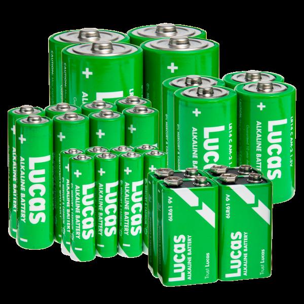 Lucas Alkaline Battery Bundle (28-pack)   Reg Price: $30   Today's Price: Only $14!    via meh.