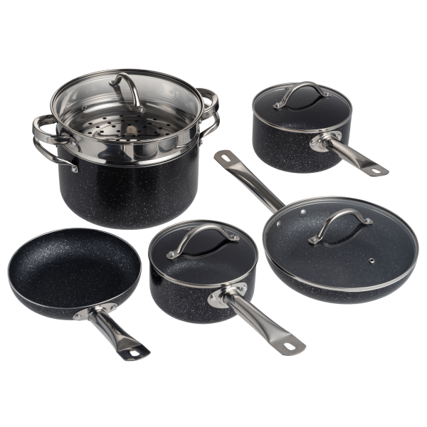 Granite King 10-Piece Nonstick Cookware Set   Reg Price: $85   Today's Price: $49 (43% off!)    via meh.