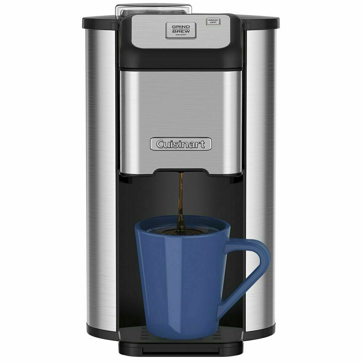 Cuisinart Single Cup Grind & Brew Coffee Maker   Reg Price: $90   Today's Price: $46 (48%)    via eBay