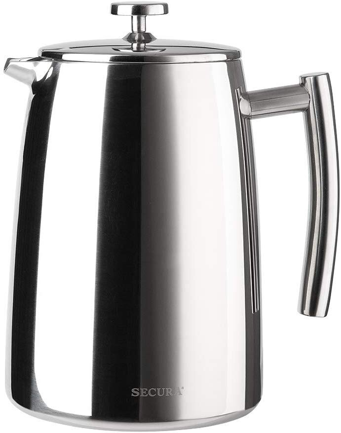 Secura 1500ML Stainless Steel French Press Coffee Maker   Reg Price: $90   Today's Price: $25.90 (71% off!)    via Amazon