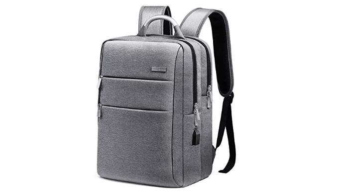 Business Travel Backpack with USB Charging Port   Reg Price: $37   Today's Price: $22.19 (40% off!)    via 1Sale