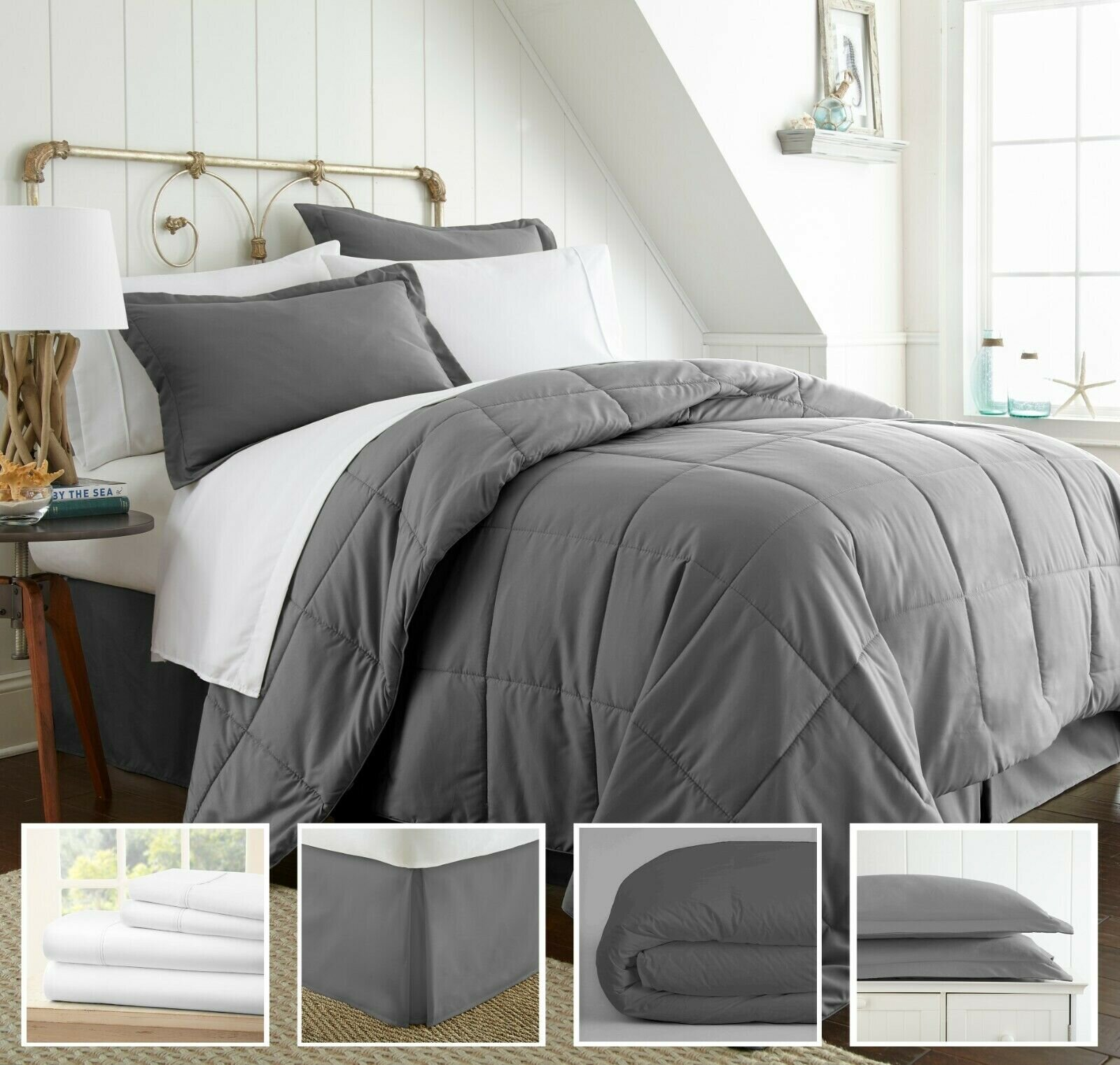 Home Collection Ultra Soft 8pc Hypoallergenic Bedding Set   Reg Price: $200   Today's Price: $33 (84% off!)    via eBay