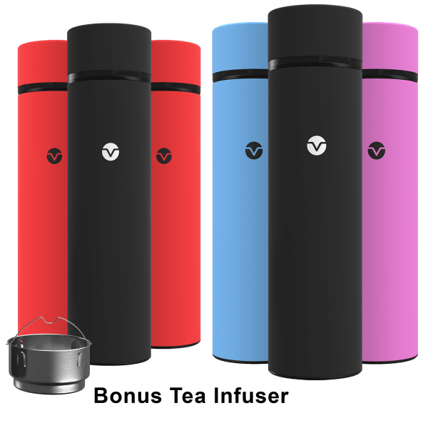 3-Pack Vremi 17oz Double-Walled Insulated Thermos   Reg Price: $60   Today's Price: $10 (83% off!)    via meh.