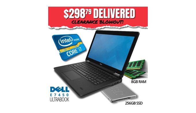 Dell Latitude E7450 Ultrabook CLEARANCE BLOWOUT   Reg Price: $2059   Today's Price: $299 (85% off!)    via 1Sale