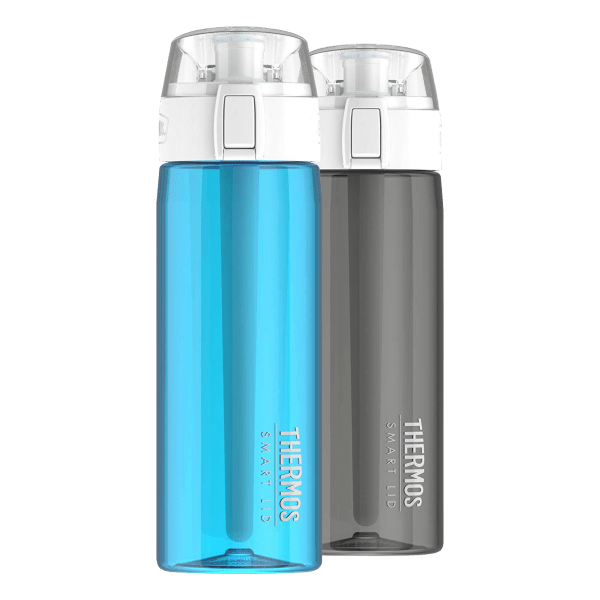 24oz Hydration Tracking Smart Thermos Bottles (2-Pack)   Reg Price: $71   Today's Price: Just $29!    via meh.