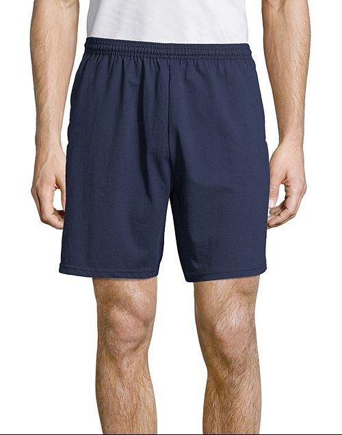 Hanes Men's Jersey Pocket Shorts   Reg Price: $12   Today's Price: $4 (66% off!)    via Hanes
