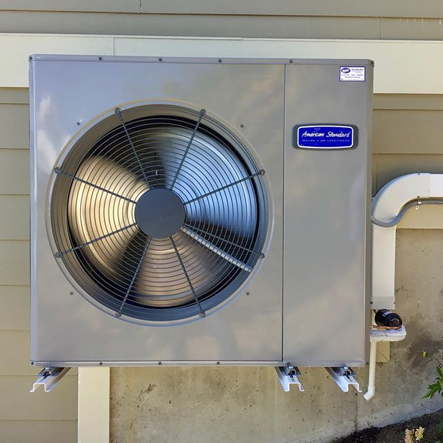 ☀️ Another outstanding install by our amazing team for a happy customer on Fox Island. Please call Mercurio's Heating & Air Conditioning for all of your heating, cooling, and electrical needs at 253-566-8974. We are here to help. #mercurios #tacoma #fircrest #gigharbor #lakewood #federalway #bremerton #olympia #puyallup #tacoma #edgewood #northeasttacoma #auburn #heating #cooling #beattheheat