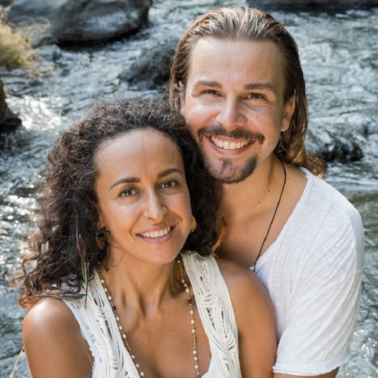 Sathya + Liliana's Retreat Interview with Yoga Aktuell