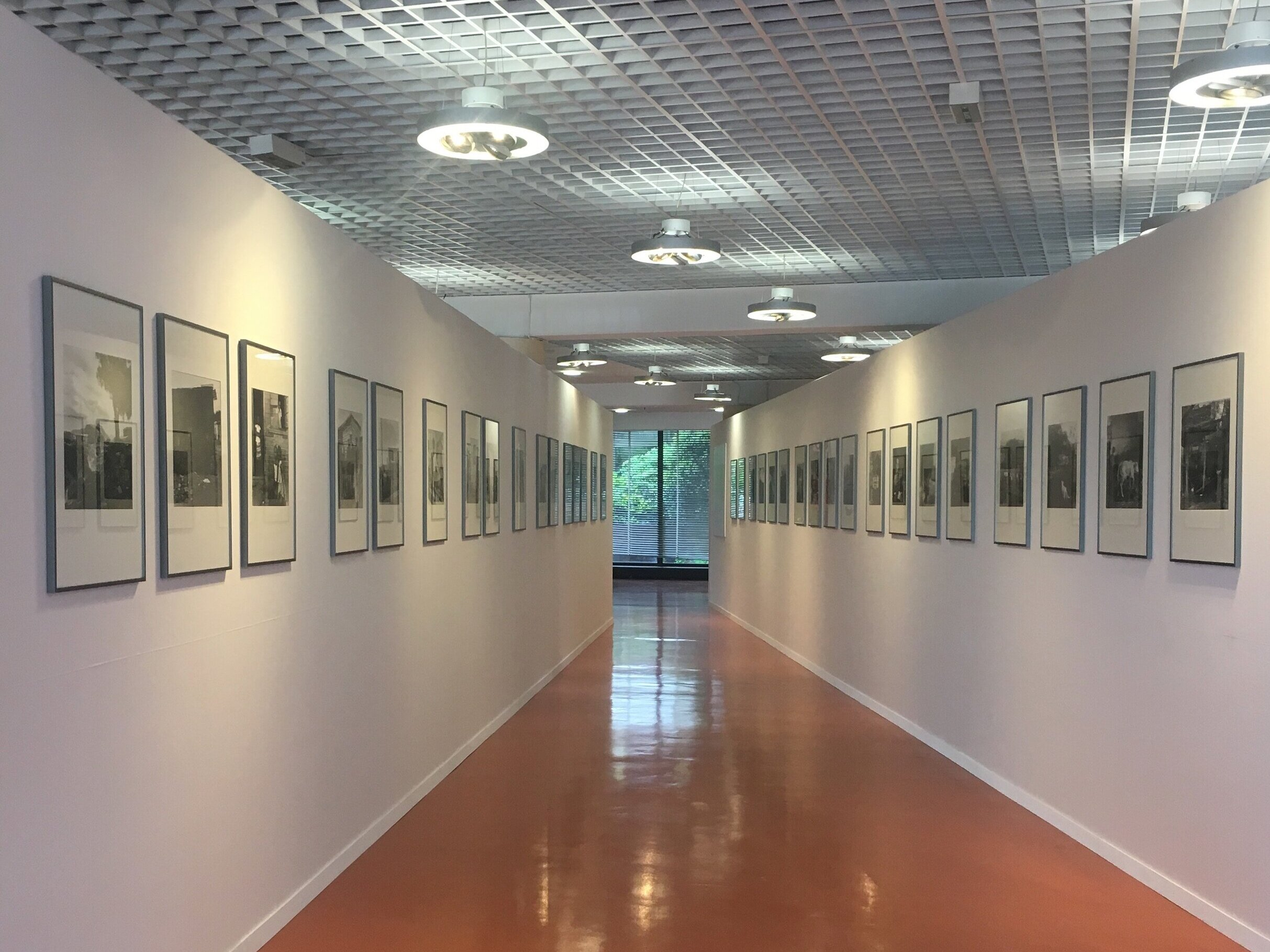 Exhibition of Basque and South Africa work at the Festival du Regard, Cergy Pontoise, 2019. In good company with Atget and Doisneau.