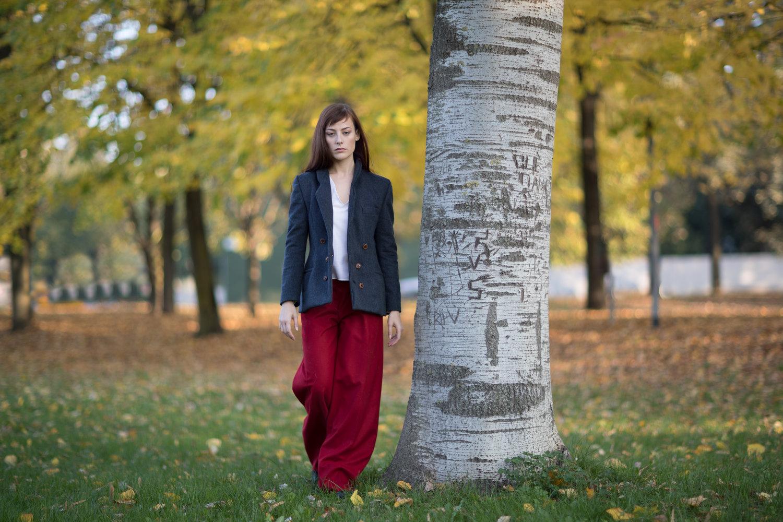 Martina Sacchetti photographed by Davide Savaidis