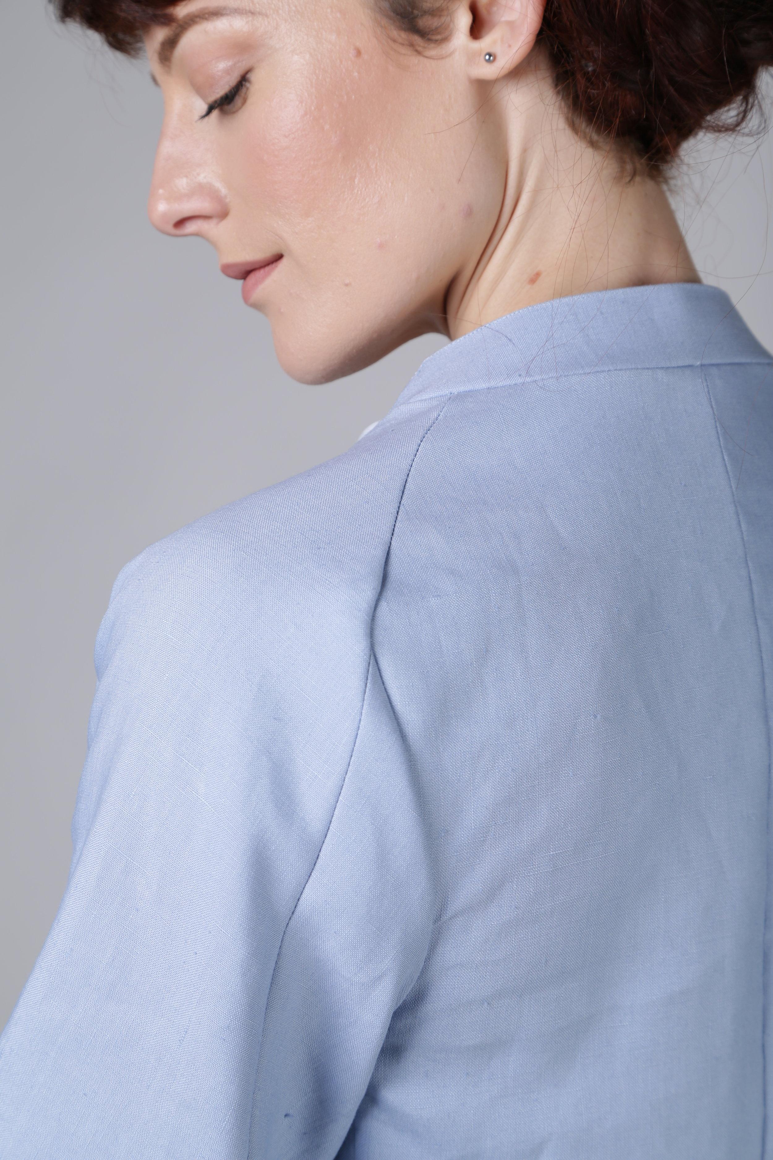 Linen tailleur