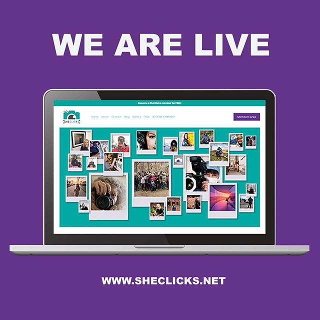 It's the first anniversary of SheClicks today! What a great year it's been. Our thanks go to all the female photographers who have joined the network and helped to make SheClicks such a vibrant and supportive community.  Today is also special because we've launched our brand new website:  https://www.sheclicks.net/ Check it out! . . . #sheclicksnet #femalephotographers #women #photography #firstanniversary #newwebsitelaunch #newwebsite