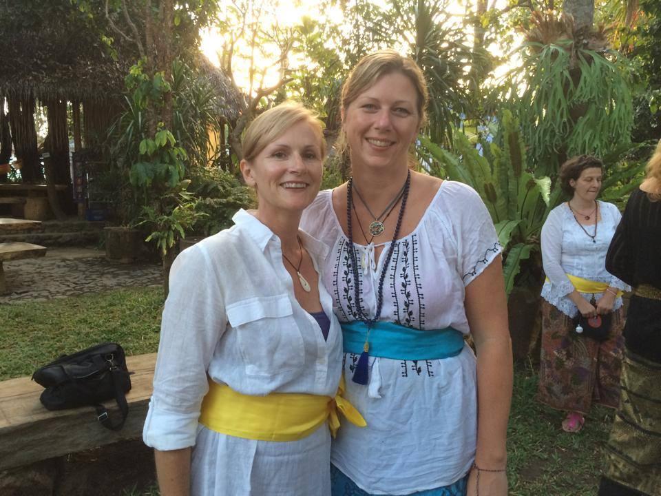 Bali temple wear. Sarong and a sash