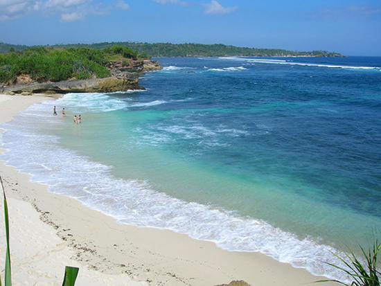 One of the many beautiful beaches