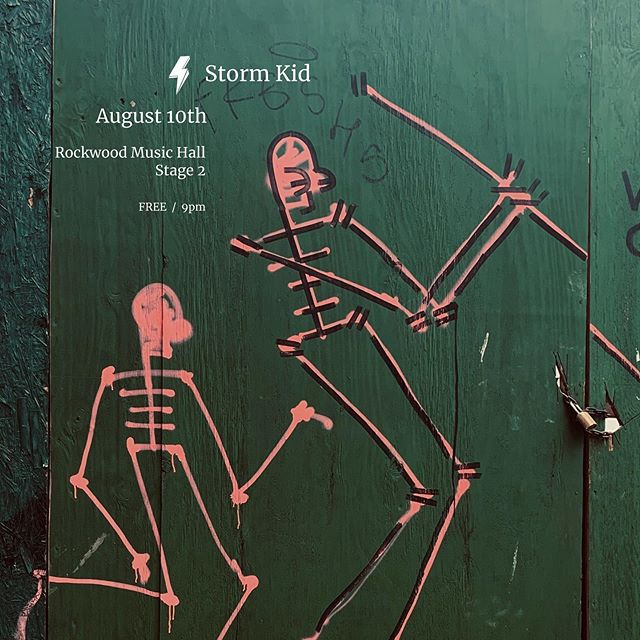 Taking the stage with @storm.kid on Saturday. My last show of the summer people, let's make it snap.