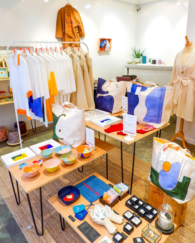 Ë.L.E Paris chez BELLES AMIES - Concept Store Paris 6e