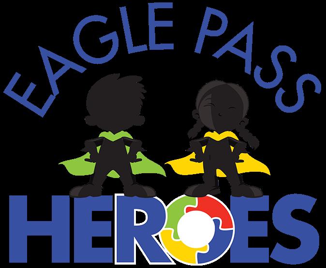 Eagle Pass Heroes logo