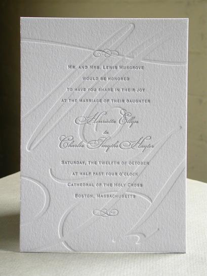 SWASH INITIAL invitation