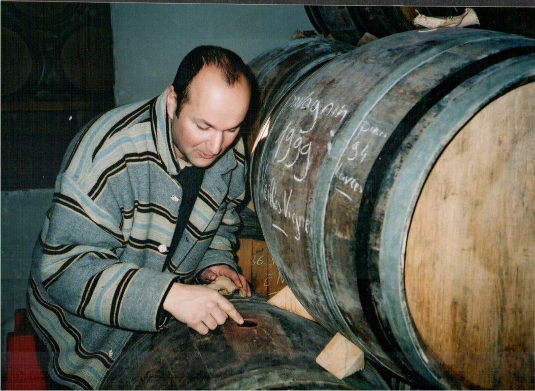 Stephane Tissot in the cellar.jpg