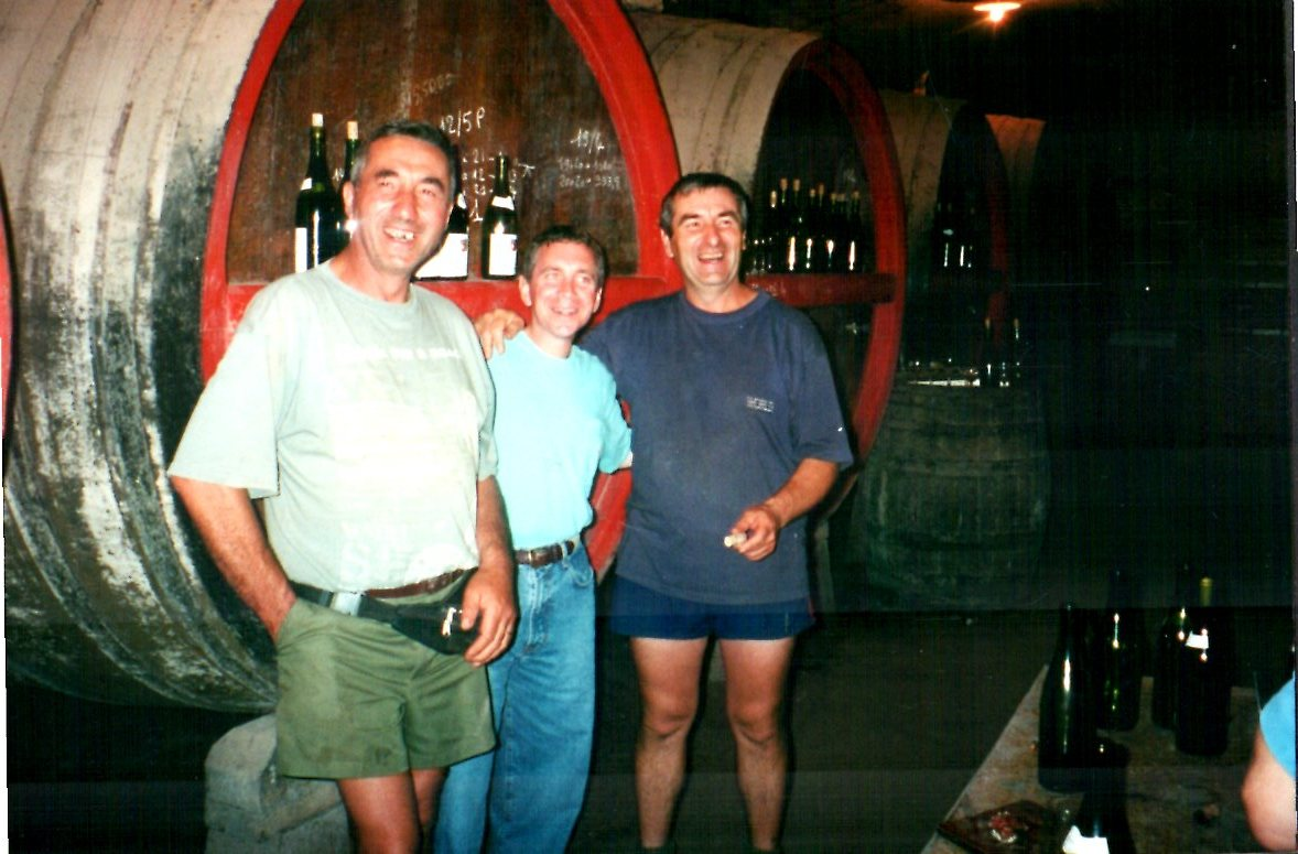 Paul and Pierre Durdilly in their cellar.jpg