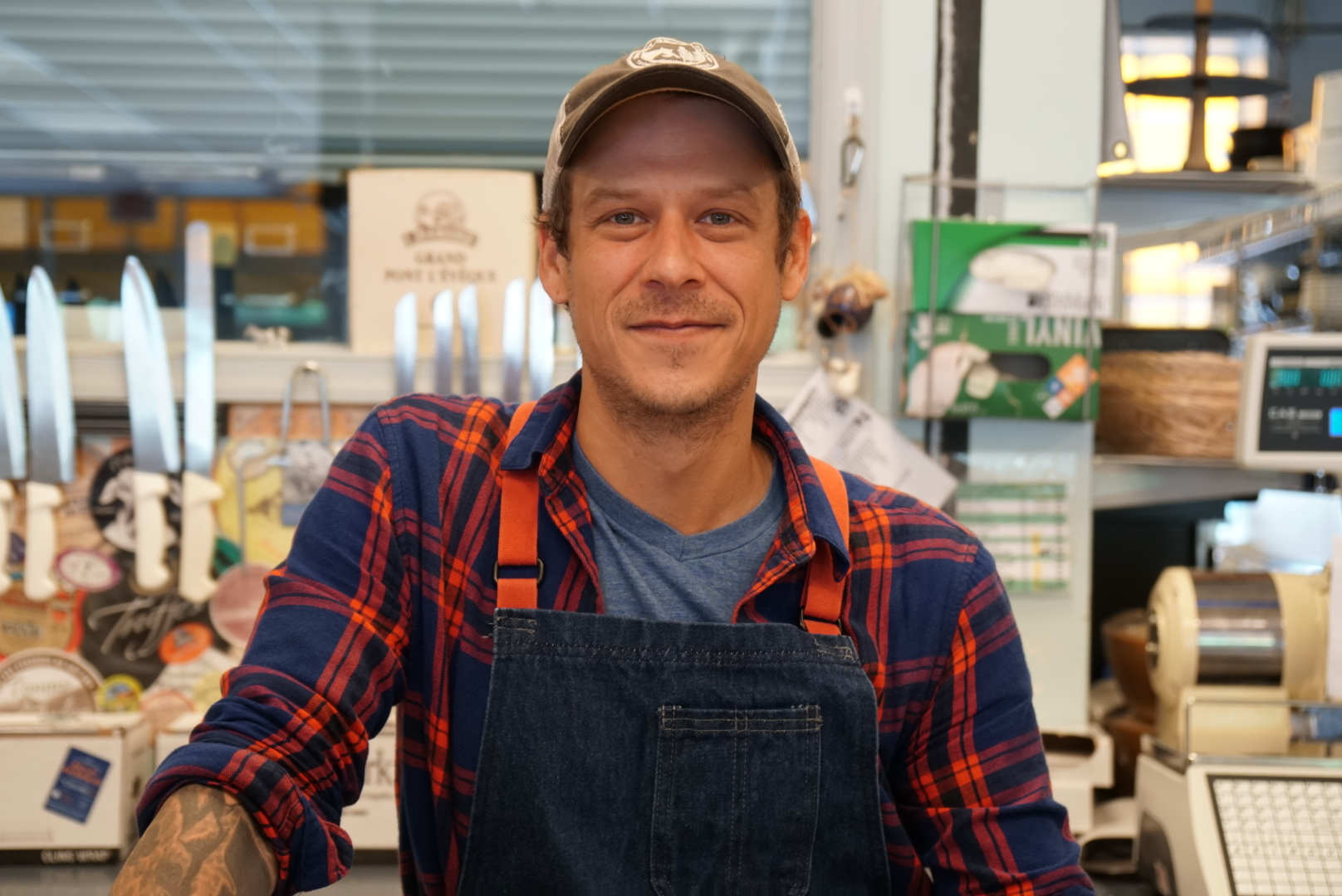 Scott Freestone - Cheese and Charcuterie Manager