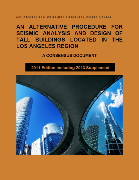 2011 edition with 2013 supplement - The 2011 edition with a 2013 supplement is now available of the LATBSDC