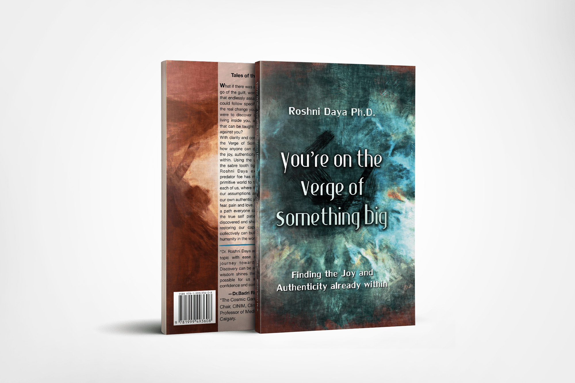 You're on the Verge of Something Big. - In the first book of the series, Dr. Daya speaks to a process of peaceful protest: an inner shift that allows for love, compassion, joy, peace and gratitude to make its way outward….authentically.