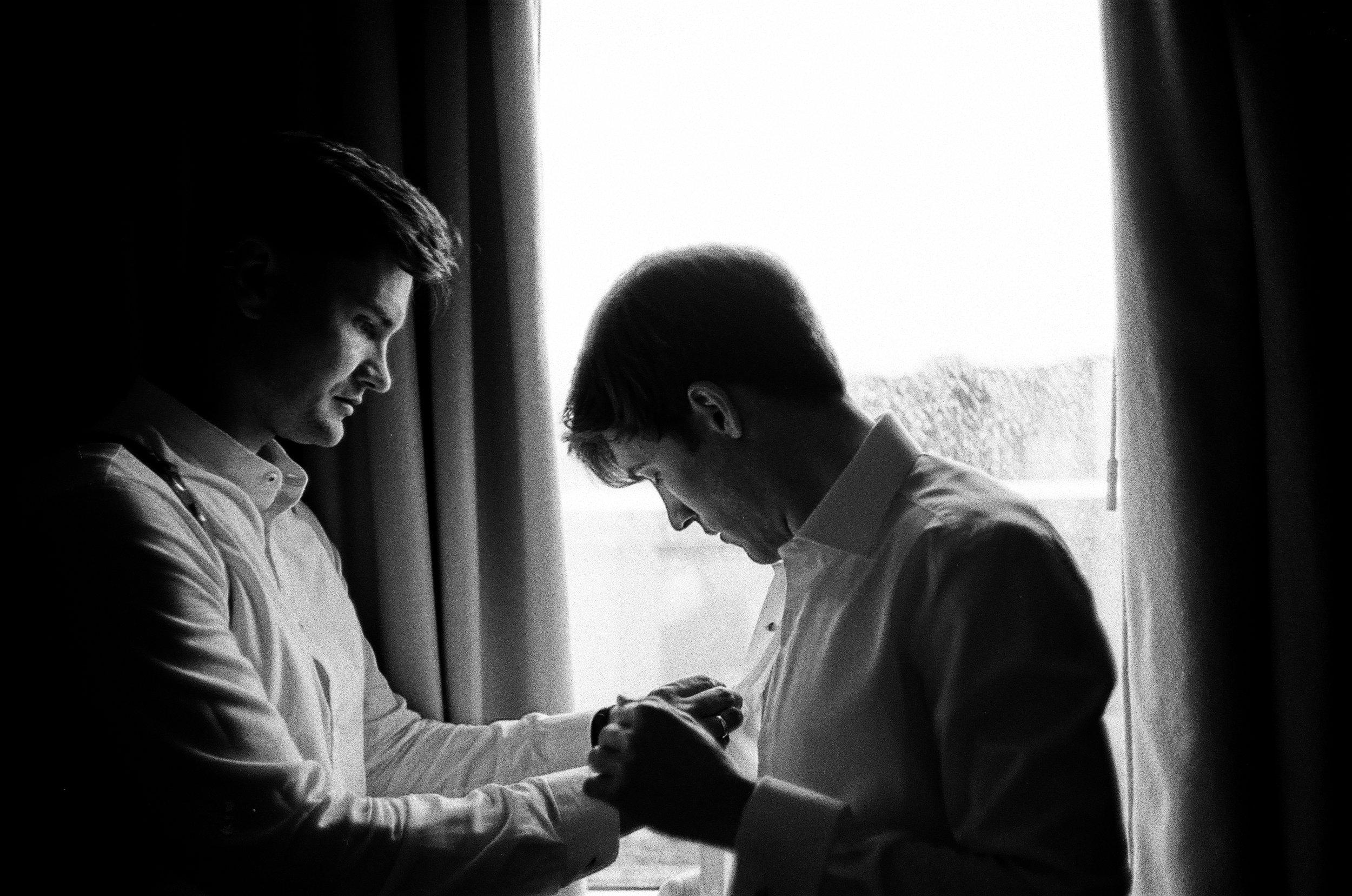 Wedding Prep., Lukasz