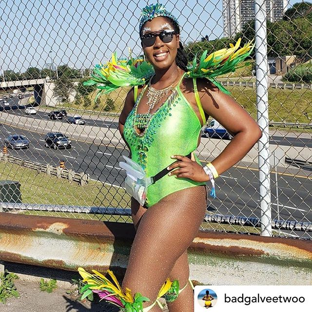 Posted @withrepost • @badgalveetwoo in our Mermaid Tings waterproof fanny pack this Caribana 2k19 👏👏👏👏 . . . The closest to a hot girl summer that I'm going to get Costume: @eustacemasdesigns  Tights: @matchedforme  Swag: @badgalveetwoo . . . . . . #toronto #torontocaribbeancarnival #caribana2019 #caribana2k19 #carnival #carnivalist #carnival2019 #trinidadcarnival #cropover #miamicarnival #atlantacarnival #hollywoodcarnival #caribbeangirls #carnivalcostume #explorepage #islandmix #followsoca #westindimade #mondaywear #badgyal #hotgirlsummer #socamusic #caribbeangirlsrock #caribbeangirlsrunit #caribbeanfashion #shoppingonline #instagood