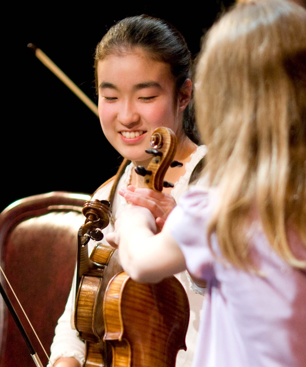 """Youngsters love seeing young people perform, and the Bay Area is rich with wonderful student ensembles that deserve their turn in the spotlight."" -"