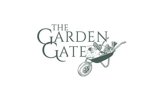 Logo design for The Garden Gate