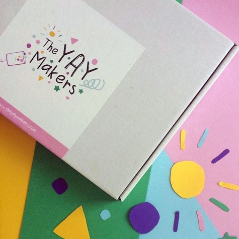 The YAY Makers - A brand new creative subscription box hits the market in the UK
