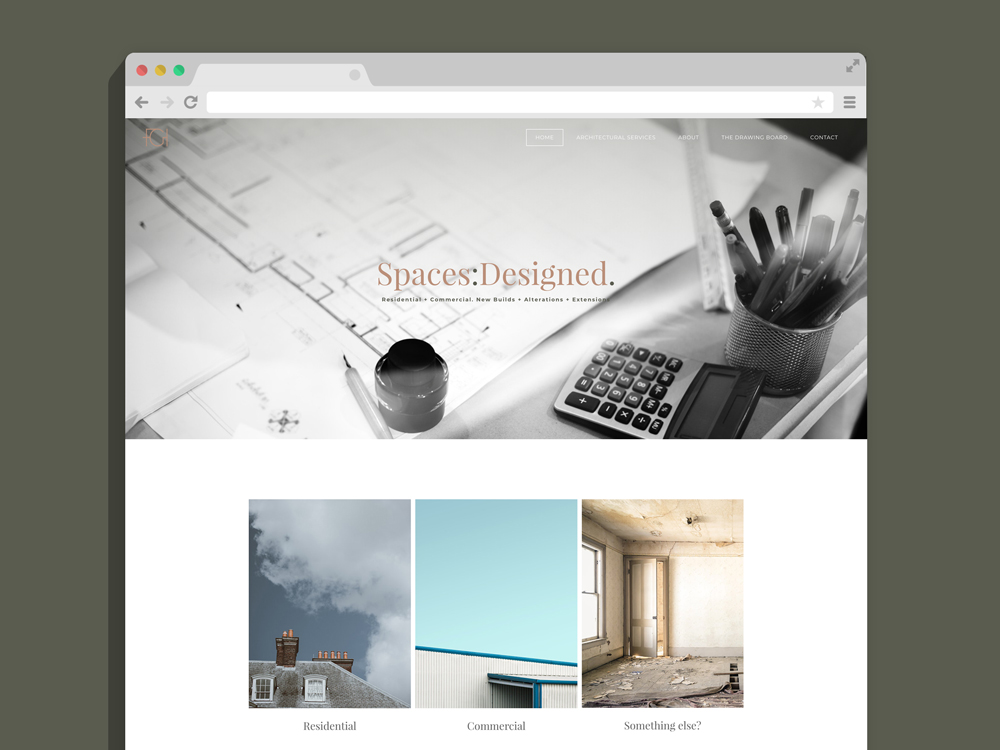 FGH Architecture website design weebly