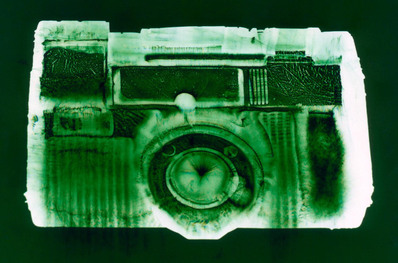 AF-5 (green),  Penelope Davis, 2003, type c print, 76x102cm