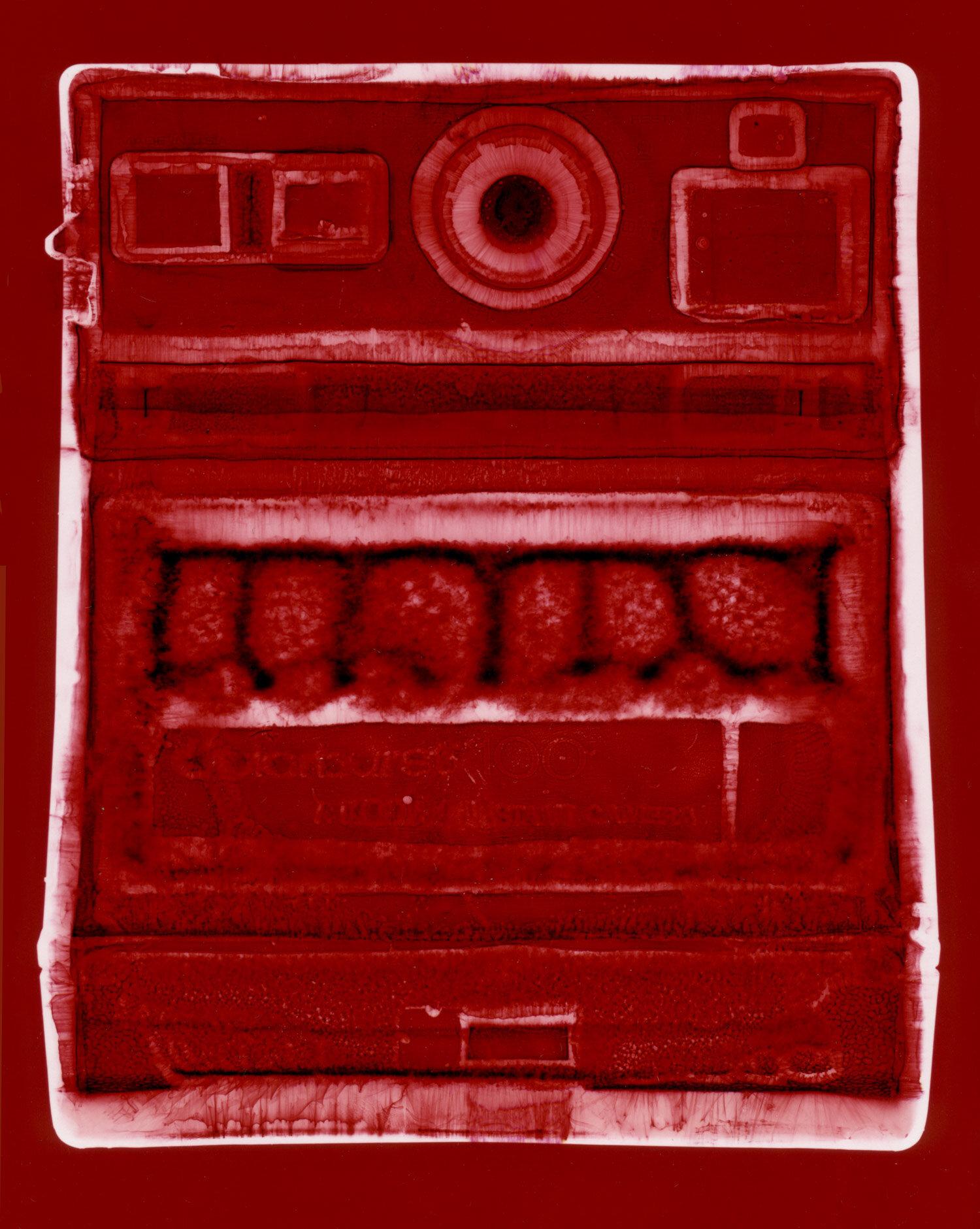 Colourburst 100 (red),  Penelope Davis, 2003, type c print, 125x94cm