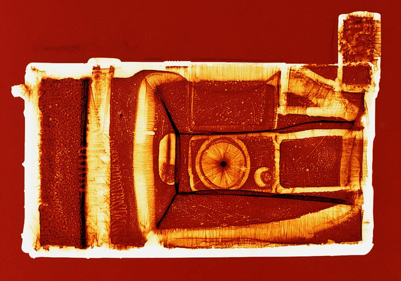 Q Light (orange),  Penelope Davis, 2003, type c print, 76x102cm