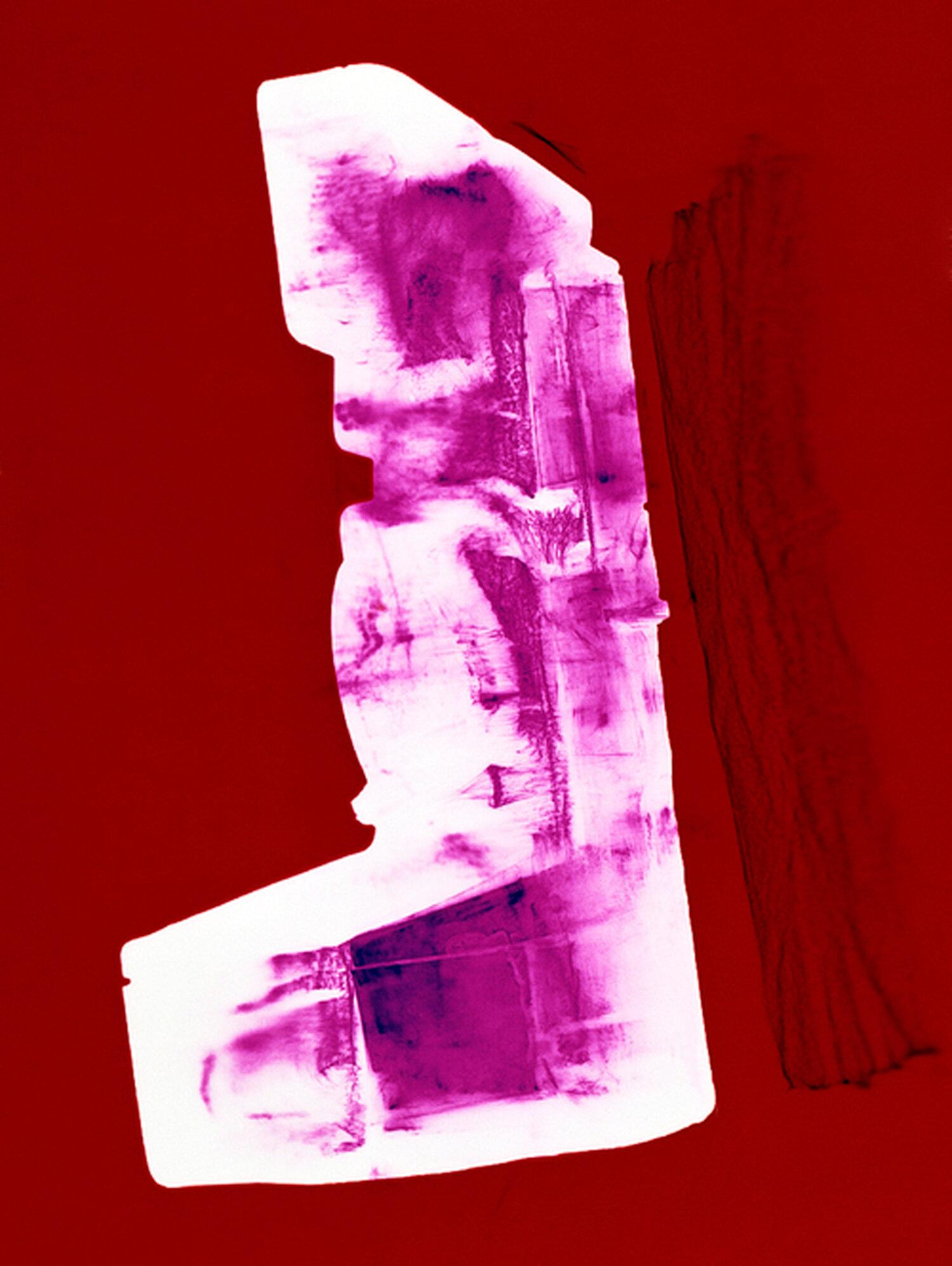 1000 onestep (pink), Penelope Davis, 2003, type c print, 125x94cm