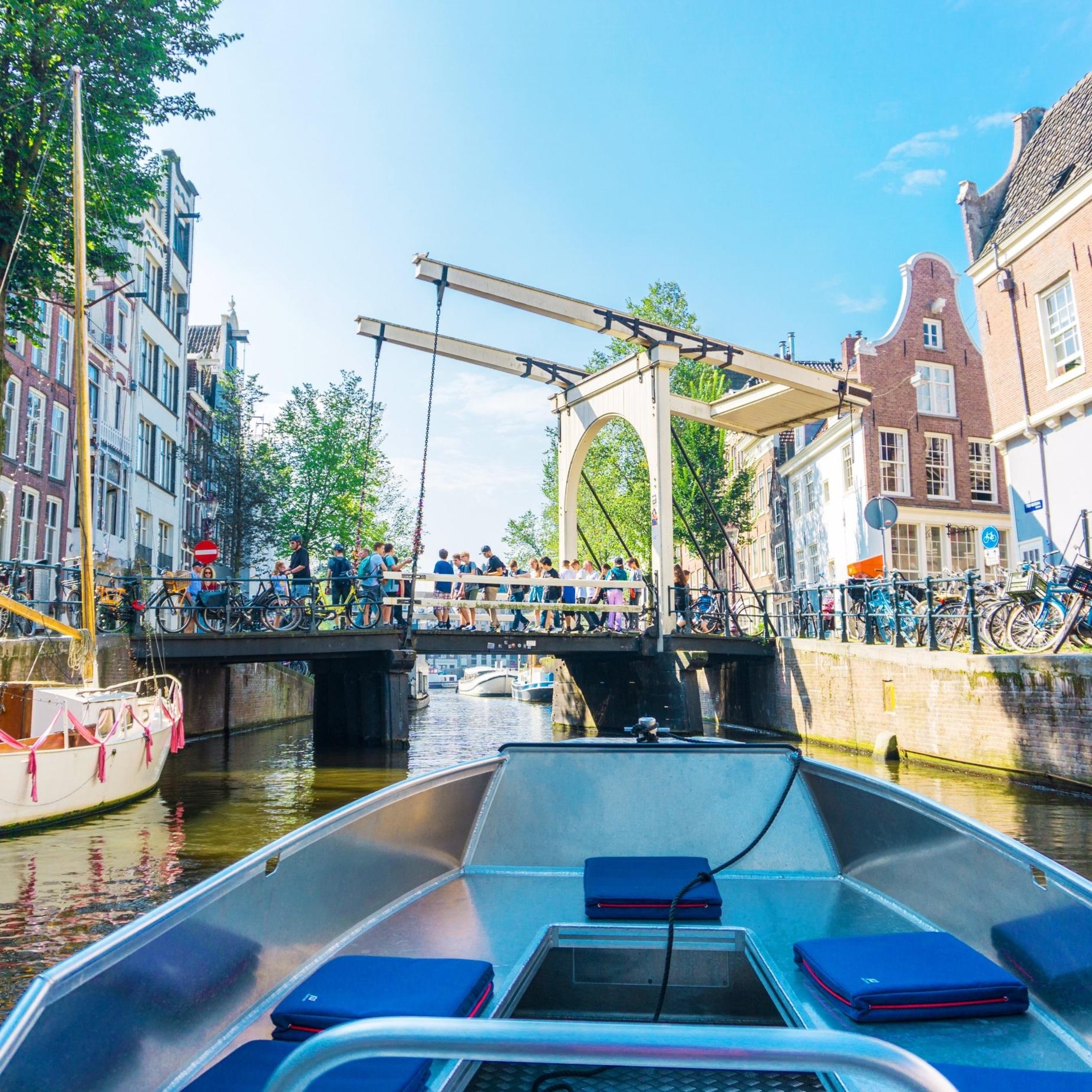 goedkoop bootje amsterdam varen