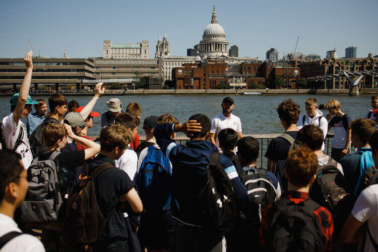 One of our tours in London