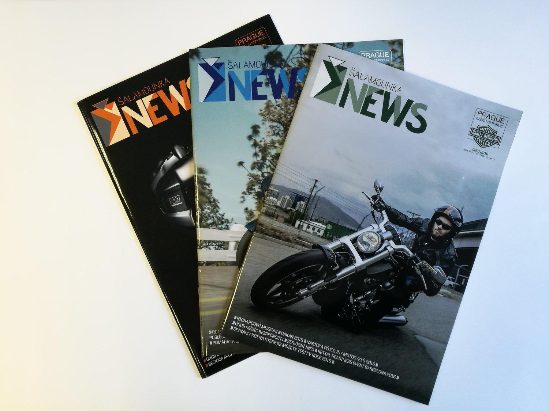 PERIODICKÝ TISK ČASOPISŮ - Tiskneme periodické i občasné firemní nebo zájmové časopisy.