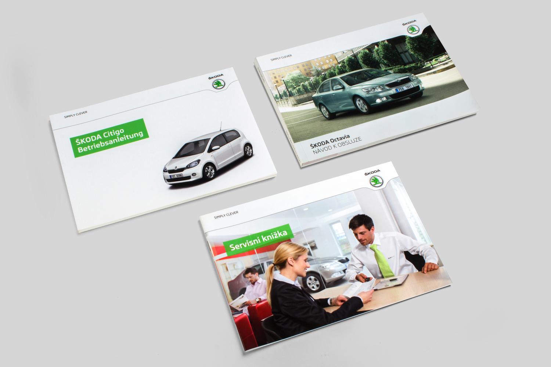 TISK MANUÁLŮ - Tiskneme manuály tak, jak automobilka prodává a vyrábí. Nic nejde na sklad.