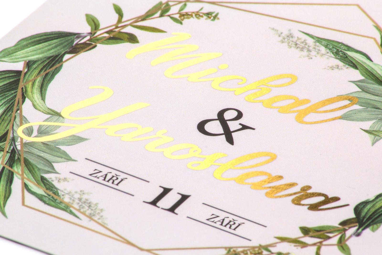 Svatební oznámení -
