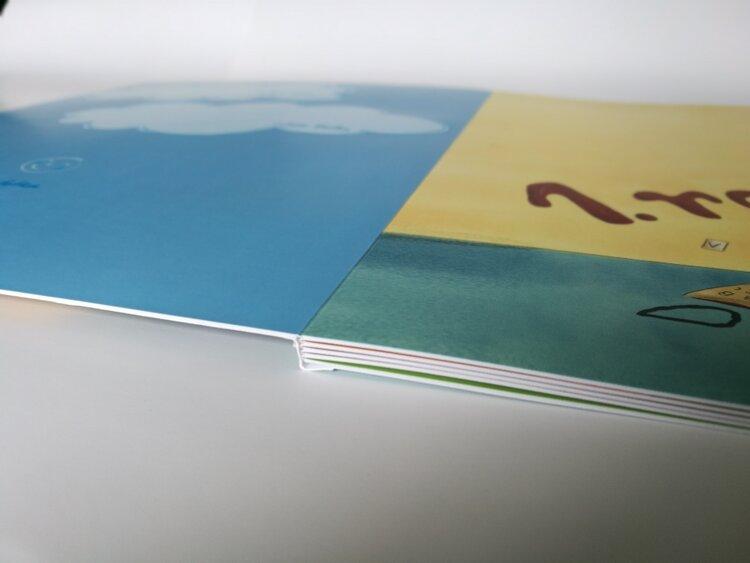 Lay Flat s měkkou obálkou první stránky -