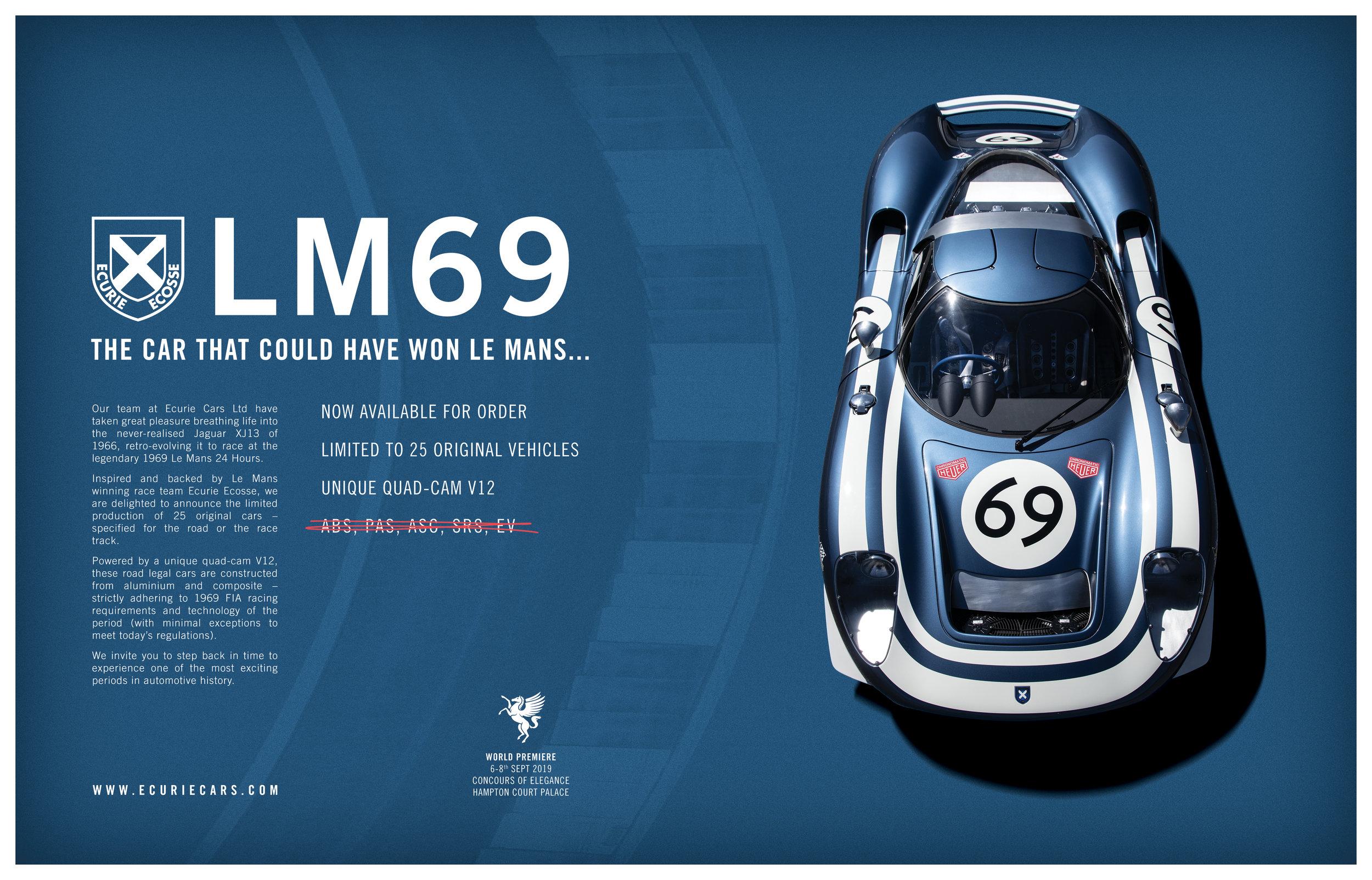 Ecurie Cars LM69 Advert.jpg