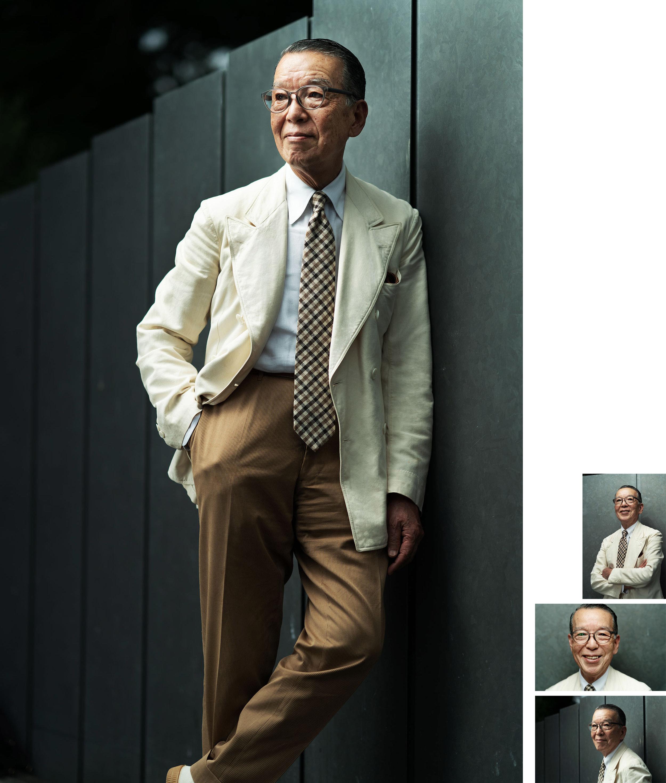"""Yukio Akamine - エディトリアル制作物:スチール / 映像近々公開予定のドキュメンタリー、生きるレジェンドと呼ばれる男性を描いた""""Yukio Akamine=赤峰幸生""""。共通の友人を通じて赤峰幸生氏に出会うことができたのは大きな幸運だった。赤峰氏は、日本のメンズファッション界を牽引してきた権威の一人に数えられるファッションアドバイザー。クラシックスタイルにこだわりを持ち、ヴィンテージアイテムとケーリー・グラントの映画を愛している。単にファッションを語るのでなく、ヨーロッパスタイルのファッションと日本の武士道の伝統とスピリットを融合させた紳士のライフスタイルを提案してきた素晴らしい男性だ。"""