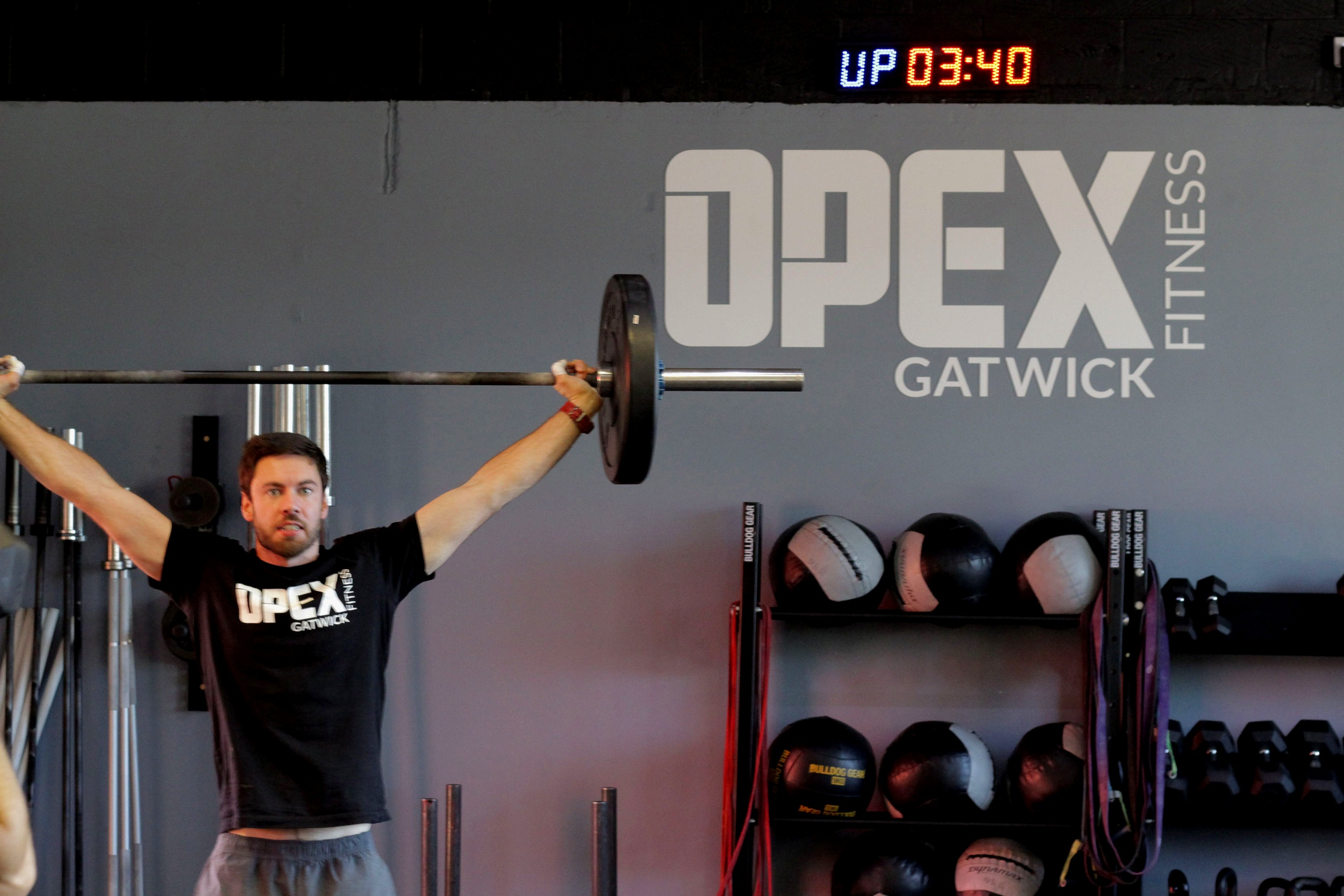Olympic weightlifting at our friends,  OPEX Gatwick .