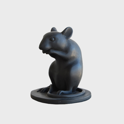 Bronze Mouse by Kenny Hunter