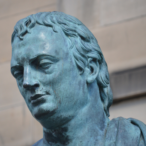 David Hume by Alexander Stoddart, The Royal Mile Edinburgh