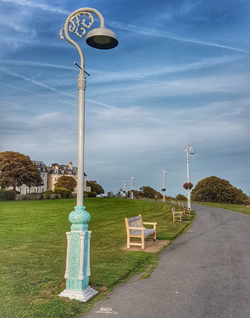 Lamp Post (as remembered) by David Shrigley, Folkestone