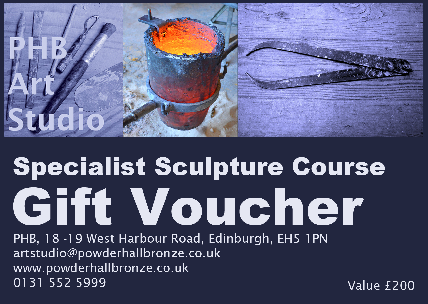 Gift vouchers available - If you would like to purchase a Gift Voucher for one of our courses please enquire here